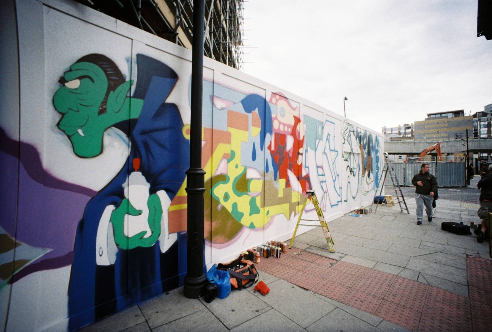 The Line Art Walk London : East london lc a graffiti walk recap · lomography