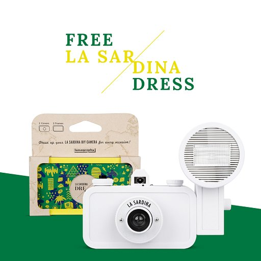 Get a Free Sardina Dress With Every La Sardina and Flash DIY