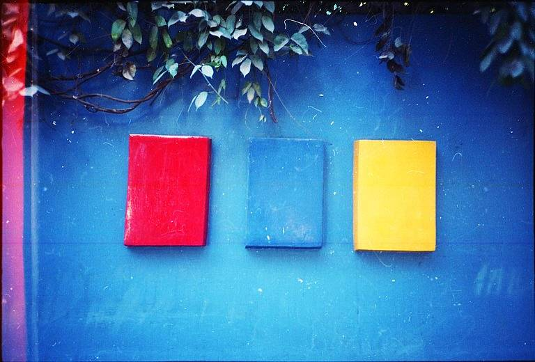 Red, Blue, Yellow