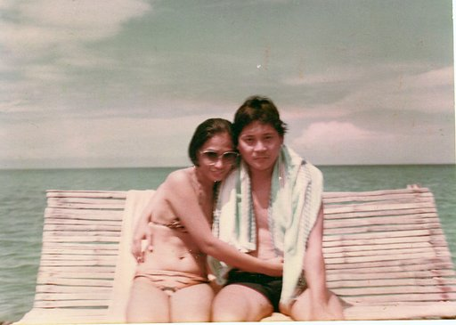 Tales from the Trip: Mom and Dad by the Beach