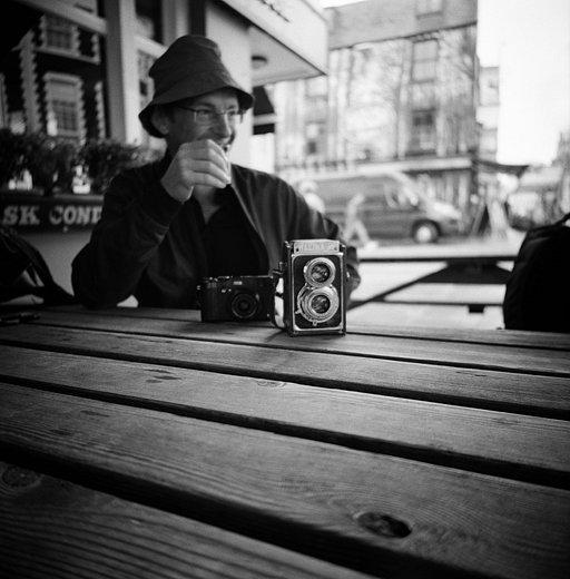 Anil Mistry: Brighton Photowalks with the LC-A 120 and the Berlin Kino Film