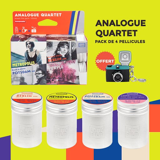 Retour en stock de l'Analogue Quartet