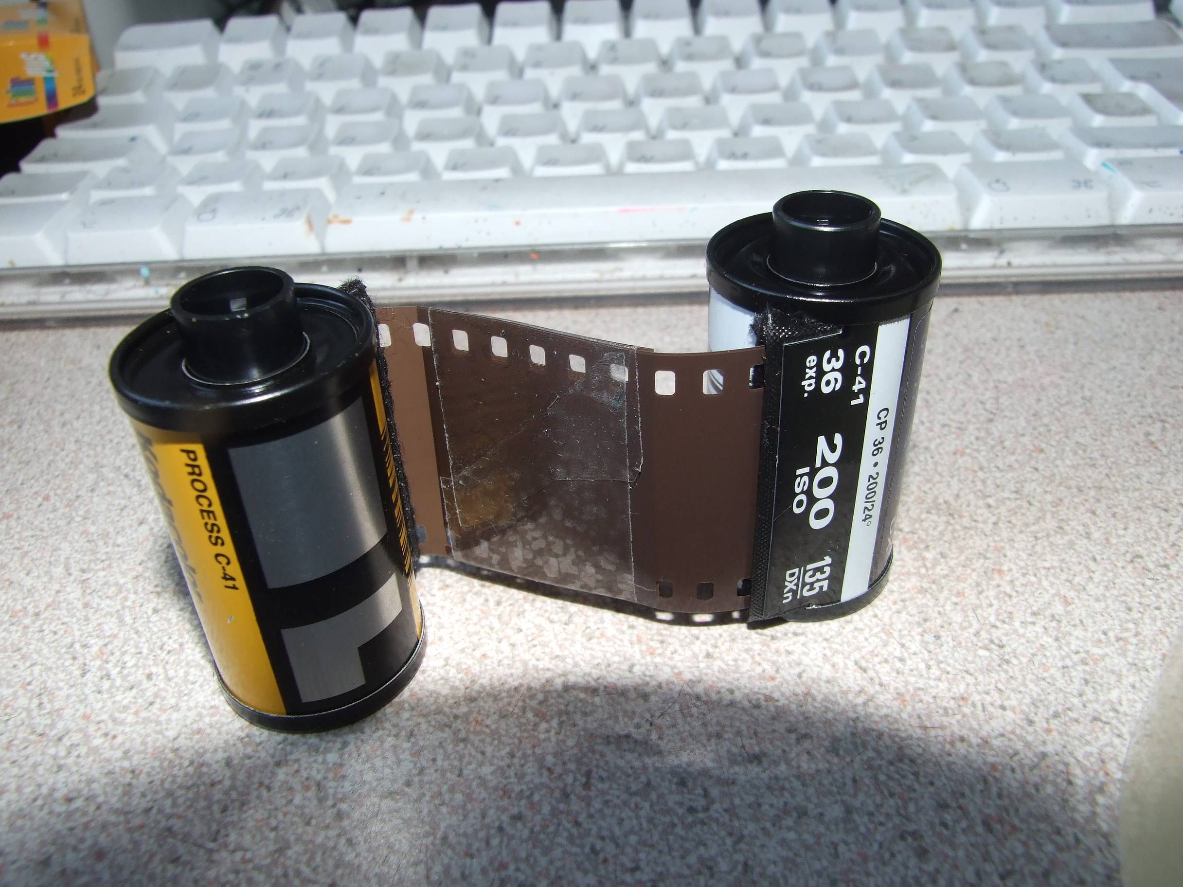 Making Your Own Redscale Film