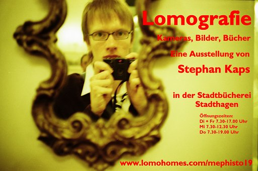 Lomography Exhibition at the Public Library Stadthagen