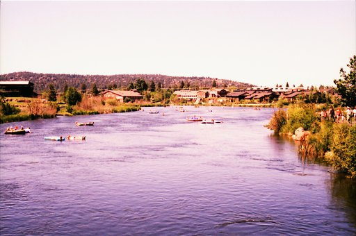 The Old Mill District, Bend, Oregon