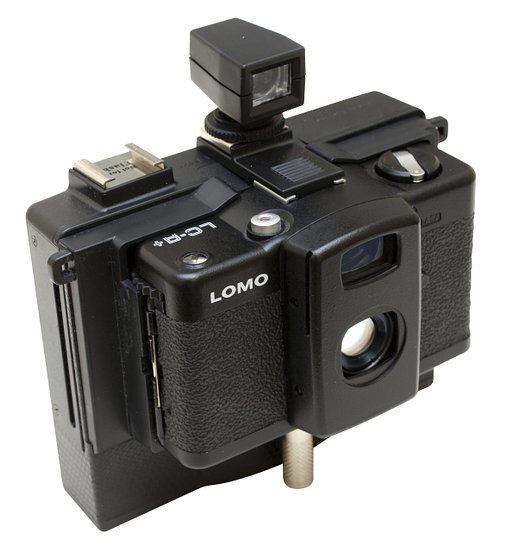 LOMO LC-A Instant Back+の取り付け方