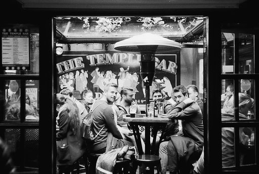 A Salute to the Masters: The Temple Bar (A Tribute to Roger Mayne)