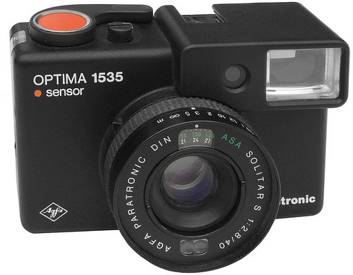 Lomopedia: Agfa Optima 1535 Sensor