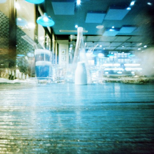 On Seeing a Turquoise-Tinted World Through Pinhole Eyes