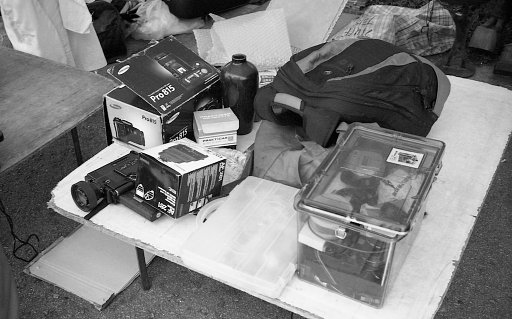 Vintage Camera Bazaar at Sungei Road Flea Market