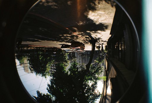 First Roll with Fisheye 2