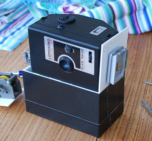 LomoKino power winder!