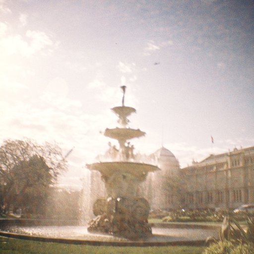 Royal Exhibition Building in Carlton Gardens, Melbourne