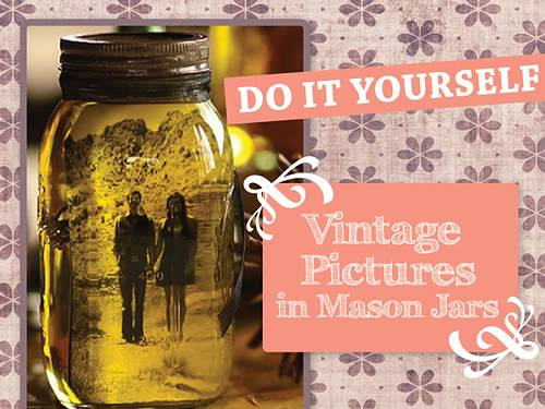 DIY Photo Mason Jar