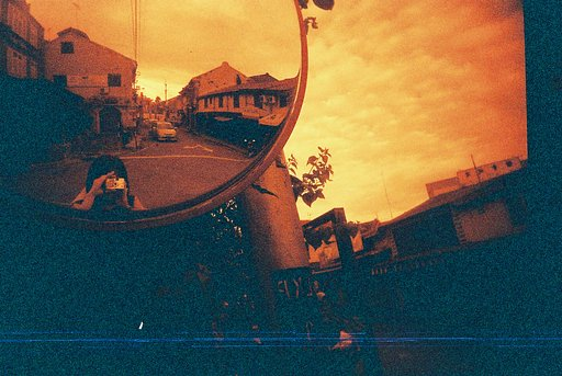 First Rolls of Redscale Film in Malaysia with Lomography Redscale XR 50-200 (35mm)
