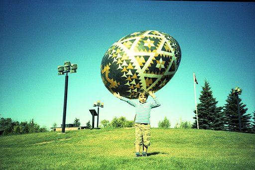 World's Largest Ukrainian Easter Egg!