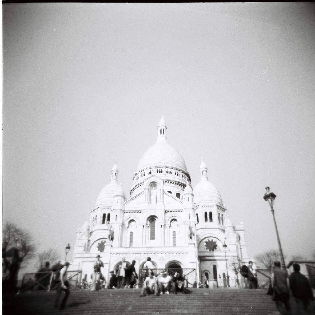 Paris Wandering in Black and White