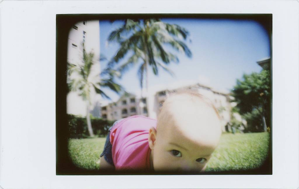 Instant Outdoor Shots Courtesy of the LC-A Instant Back+