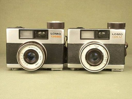 LOMO 135 BC and 135M - Russian action sampler!