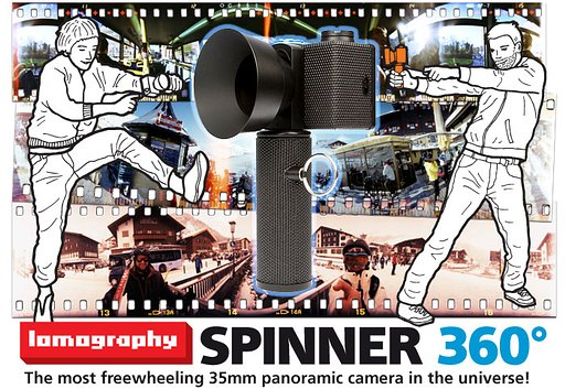 Presenting the Spinner 360° - The most freewheeling 360° panoramic camera in the universe!