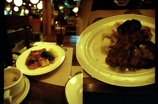 A Holiday Feast at Cherating Steak House