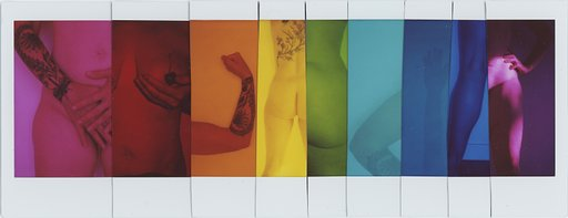 Anne Hollond's Technicolor Nudes Series