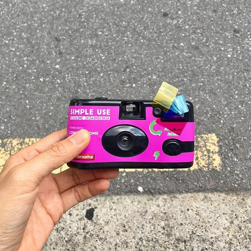 Keep It Simple and Purple with the Simple Use Film Camera LomoChrome Purple 2019