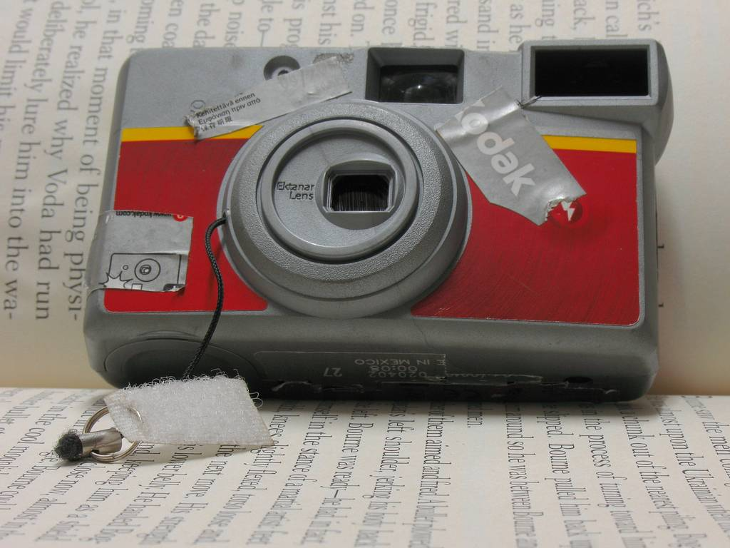 Pinhole Camera Project: How to Turn a Disposable Camera into a Pinhole