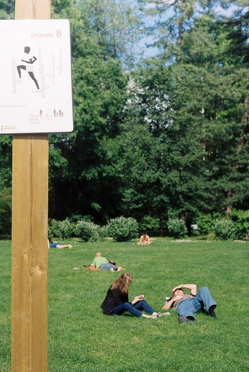 Fun Under the Sun: The Exercise Trail in Simplon Park