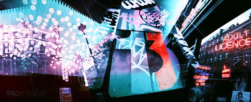 LomoChrome Purple Panoramics with the LC-Wide