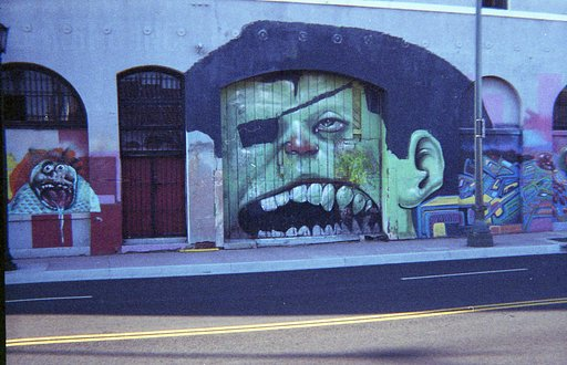 Graffiti Hunt in the City of Angels