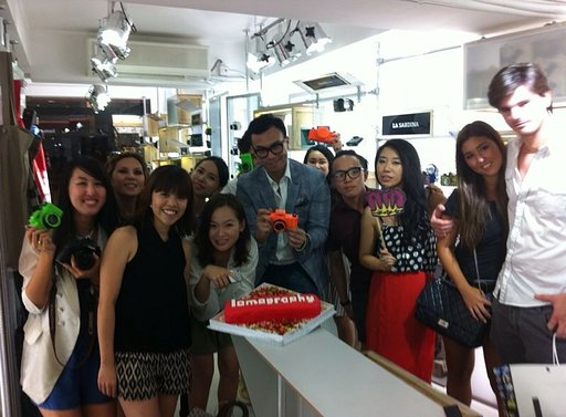 1st Bloggers' Party at Lomography Gallery Store Sheung Wan (Hong Kong)