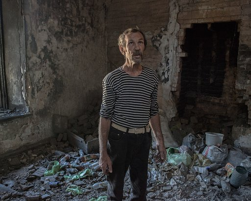 Faces of War Torn Ukraine - Photos by Tim Eastman