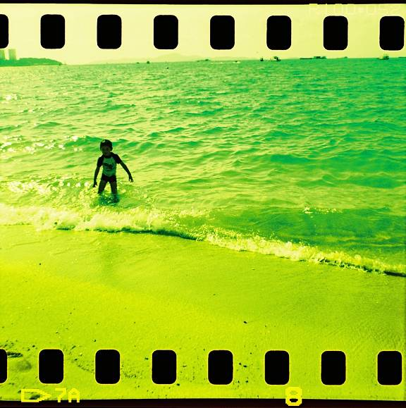 Greenish Agfa CT Precisa 100 Fresh