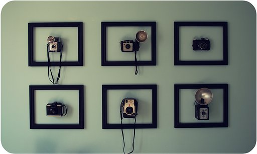 DIY Framed Camera Display
