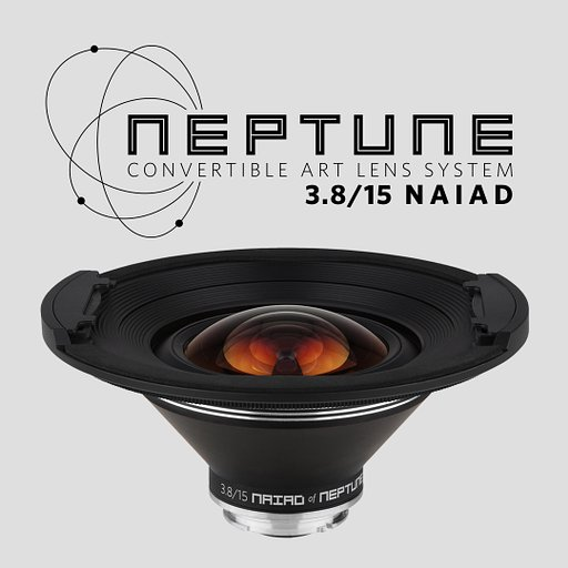 Widen your horizons and capture everything with the newest front element of the Neptune Convertible Art Lens System, The Naiad 15mm Neptune System Front Lens