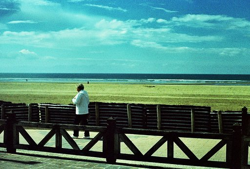 Awesome Albums: Walk on the Beach, Fujichrome 50D by aldaer