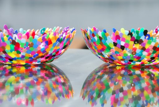 DIY Project #46: Perler Beads Bowl