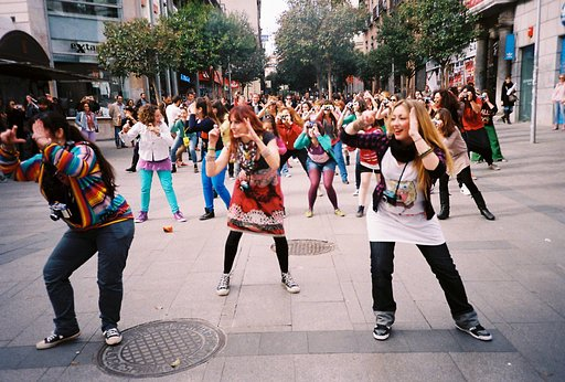 This is How the Lomography Flash Mob Went Down