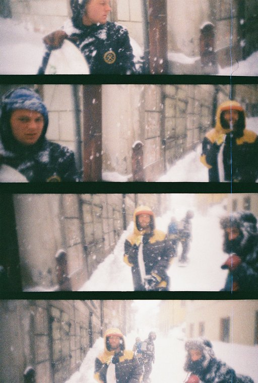 LomoAmigos Yougofirst Shoot With The LomoKino In Their New Snowboard Movie