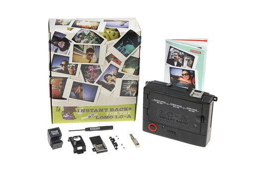 Experience Instant Lomo Lc-A Gratification with Th Lc-A Instant Back+