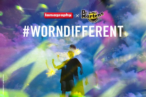 Lomography X Dr. Martens-#WORNDIFFERENT 攝影比賽