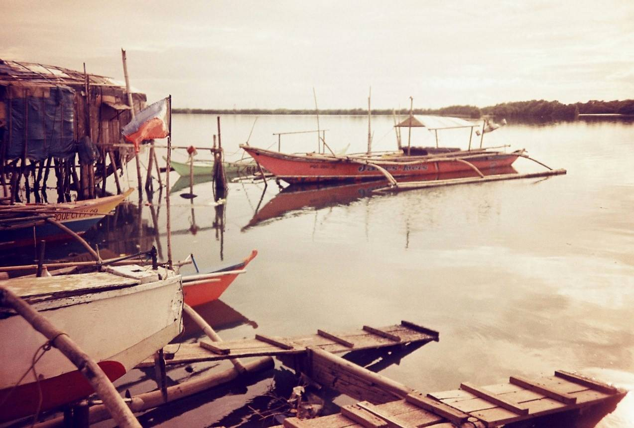 Fishing Village Along Paranaque Coast · Lomography