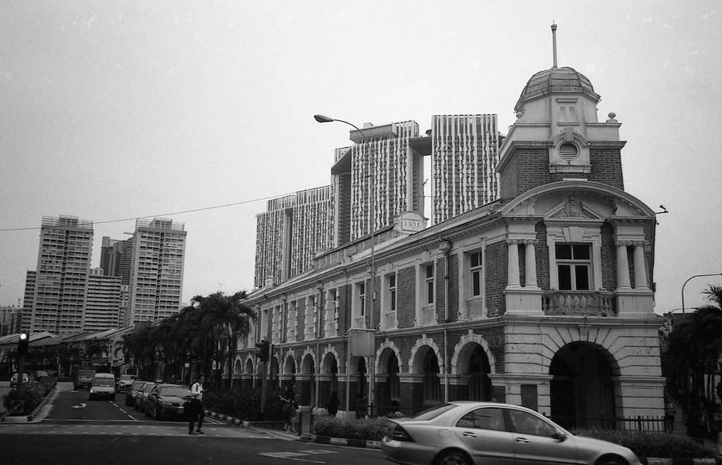 Black and White Tanjong Pagar