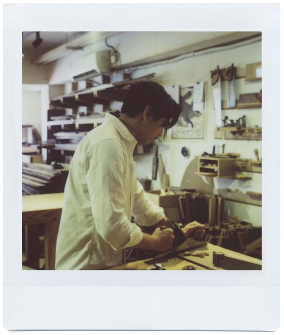 "Hong Kong's Woodworkers ""Twenty-one from Eight"" with the Lomo'Instant Square"