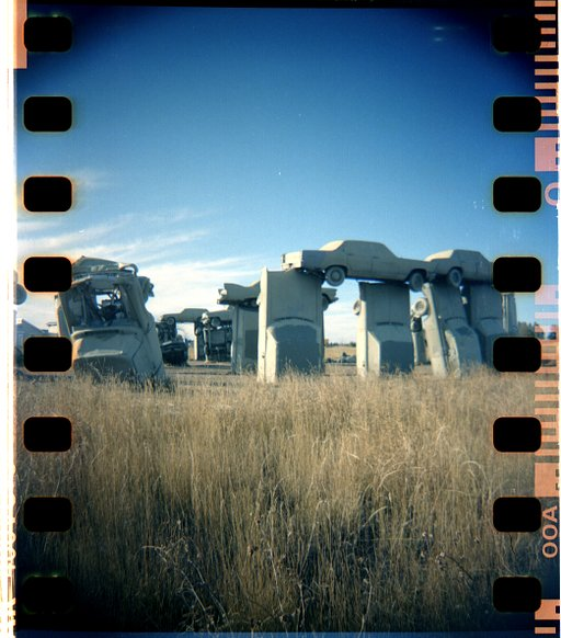 Places to Go for Traveling Lomographers: Carhenge