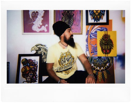 Amrit Singh: Artwork in Analogue with the Lomo'Instant Wide
