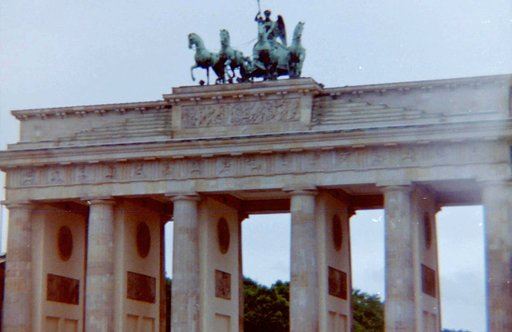 Visiting the Brandenburg Gate in Berlin