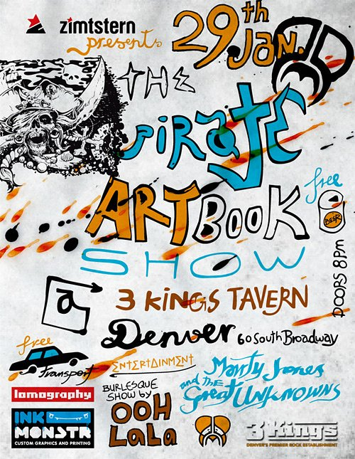 LomoAmigo Event - Pirates Movie Crew Book Art Show Denver