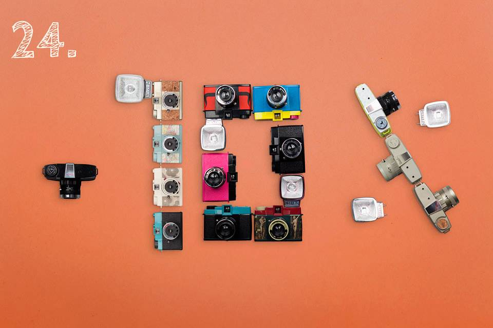 Today Only: 10% Off Any Diana F+ or Diana Mini Camera